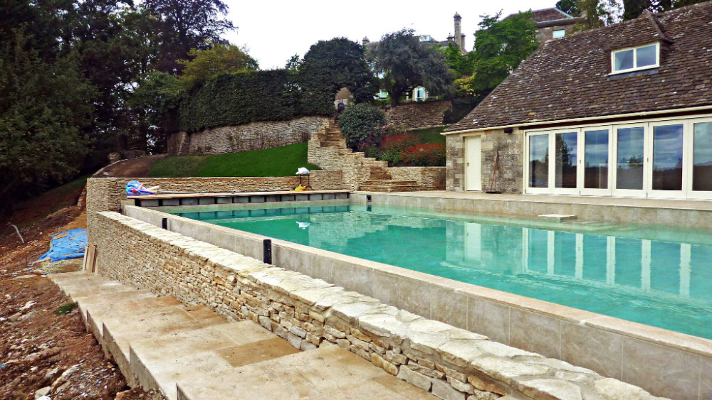 cotswold stone pool
