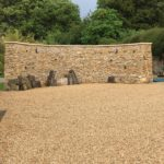 self-binding gravel driveway